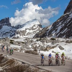 The day #giro #peloton #lovemywilier #wilier #wiliersoutheast #dolomites #procycling @wiliersoutheast