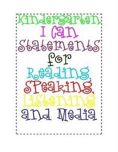 Common Core Freebie kindergarten