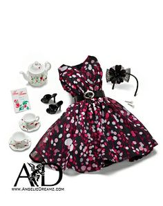 THE BARBIE LOOK Tea Party Accessory Pack