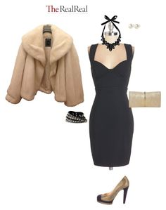 """""""Luxe Wish List with The RealReal: Contest Entry"""" by erinlindsay83 ❤ liked on Polyvore featuring Christian Dior, Chanel, Nina Ricci and Boohoo"""