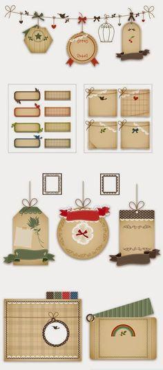 Sé que tienes muchos regalos para dar, espero que algunos sean hechos por ti, hoy te regalo montones de tarjetas que encontré en la web, ...