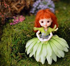 Amelia Thimble Green Daisy Flower Dress | Flickr - Photo Sharing!