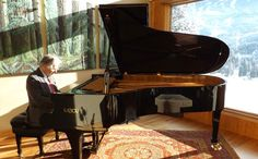 High-end Italian piano maker visits Whistler Paolo Fazioli signs instrument recently purchased by local couple by Alyssa Noel Whistler, Arts And Entertainment, Music Love, Classical Music, Music Instruments, Couple, Books, Movies, Pianos