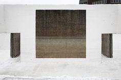 Rotor Brussels - grindbakken Land Art, Brussels, Architecture Design, Minimalism, Exterior, Cool Stuff, Random, Simple, Projects