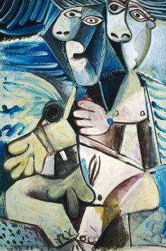 Etreinte, 1971 Pablo Picasso