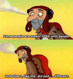 """And if you're a single when all your friends are married, you know, it isn't a problem. 
