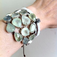 Phrenite Cuff Bracelets, Gemstones, Sterling Silver, Best Deals, Things To Sell, Jewelry, Ebay, Jewlery, Bijoux