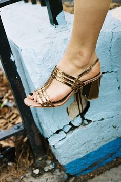 maryam nassir zadeh, metallic shoes, womens fashion, womens shoes