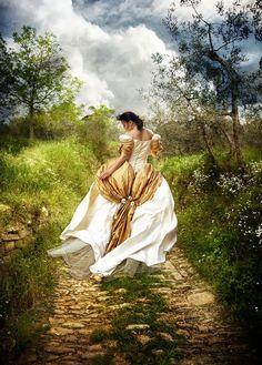 Garden Walk by *kayceeus on deviantART