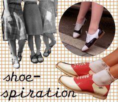 Saddle Shoes Diy