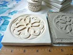 relief clay stamps | Clay Stamp Mandala Pottery Press Mold Relief Mold or Sprig Mold Bisque ...