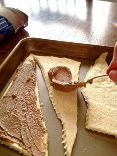 Crescent Cinnamon Rolls..... too easy