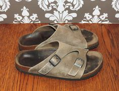 Birkenstock size 38 Womens 7 Mens 5 Tan Brown by VintyThreads $37