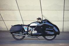 BMW R60/5 custom motorcycle
