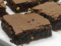 Brownie Tradicional de chocolate do Mais Você ♥