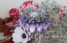Belaroma: Master Class: Flor de Cuero - crisantemo.