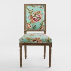 Monrovia Floral Paige Square Back Dining Chairs Set of 2 - v2