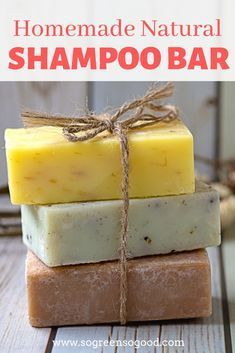 Homemade Natural Shampoo Bar - can be customized! - - This beauty recipe is perfect for those of you who never made a shampoo bar before as I replaced lye (used for saponification) with an organic pre-mad. Perfume Diesel, Lush Shampoo Bar, Body Shampoo, Solid Shampoo, Homemade Shampoo And Conditioner, How To Make Shampoo, Shampooing Bio, Handmade Soaps, Natural Beauty Products