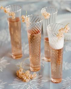 Champagne Cocktail ~ nothing more chic than a simple champagne cocktail ~
