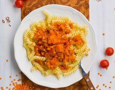 Pasta con zucca e lenticchie per svezzamento 9 mesi | Mamma Felice