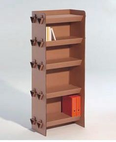 Decoesfera - Casa verde: muebles de cartón Okupa