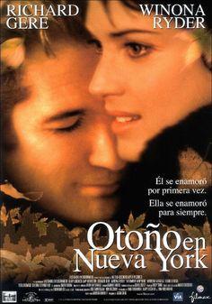 Otoño En Nueva York (Autumn In New York)   2000: Romance. Drama   Drama romántico. Director: Joan Chen. Reparto: Richard Gere y Winona Ryder. País: Estados Unidos. Duración: 105 minutos