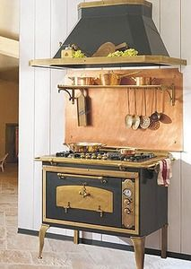 cuisini re mixte bois cuisson cuisine pinterest piano et cuisine. Black Bedroom Furniture Sets. Home Design Ideas