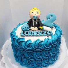 bolo poderoso chefinho chantilly Tobias, Birthday Cake, Desserts, Food, Round Cakes, Decorating Cakes, Sweets, Mini Pastries, Cake Ideas
