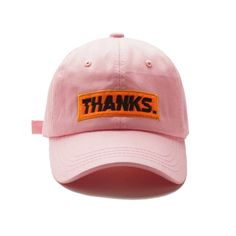 462909525017d THANKS VHS CAP ( PINK   RED ) on Storenvy