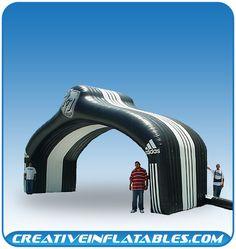 Inflatable Arch for Adidas. PromotionalDesignGroup.com