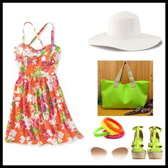 """""""summer outfit"""" by ntina36 on Polyvore"""