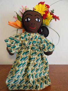 African doll. $20.00, via Etsy.