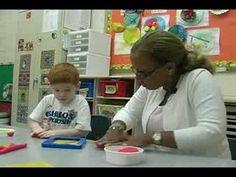 Preschool Lesson: Building Capital Letters With Dough