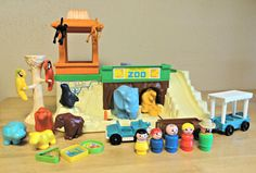 FP Little People Zoo- we gave ours to our nephew Steve & his wife for their kids