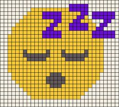 Emoji Perler Bead Pattern