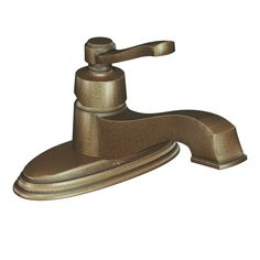 View the Moen S6202 Single Handle Single Hole Bathroom Faucet from the Rothbury Collection (Valve Included) at Build.com.