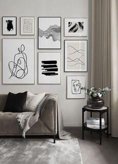 Living Room Trends, Living Room Decor, Bedroom Decor, Home Decor Wall Art, Living Room Wall Art, Living Room Paintings, Living Room Walls, Wall Art Bedroom, Living Room Wall Designs