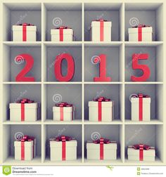 Happy New Year Concept Dreamstime Image 46624086 Cute Idea For A Years Bookshelf