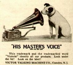 Nipper the RCA dog