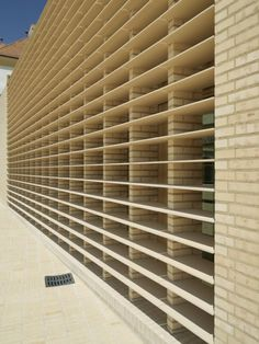masonry screening detail