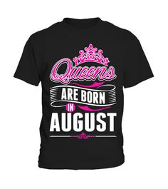 Women Are Created Equal Best Born In AUGUST WOMENS FITTED T-SHIRT tee birthday