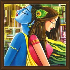 Stone art painting quotes ideas for 2019 Krishna Drawing, Krishna Radha, Lord Krishna, Radha Krishna Paintings, Baby Krishna, Indian Art Paintings, Modern Art Paintings, Abstract Paintings, Oil Paintings