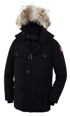 Cheap Goose Banff Parka Navy Mens