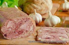 Kulinarne pyszności Molki: Domowy wiejski salceson-rolada mięsna