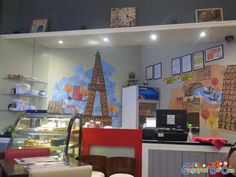 Chez Marie Bar Café and Restaurant: Serving the Best French-Italian and Fusion Cuisine in Cagayan de Oro Counter, Restaurants, Good Things, French, Bar, Cagayan De Oro, French People, Restaurant, French Language
