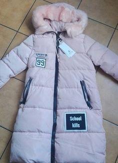 Kup mój przedmiot na #vintedpl http://www.vinted.pl/damska-odziez/kurtki/16086929-rozowa-kurtka-plaszcz-zimowa-must-have-naszywki