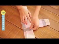 Genial truco para doblar tus calcetines, dejarás de doblarlos como todo el mundo una vez que veas esto - Trucos de casaTrucos de casa