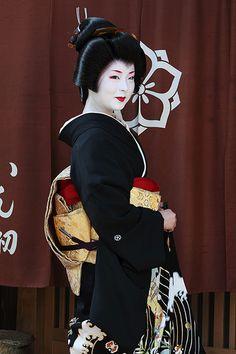 #Geiko Beautiful woman who live in Kyoto Japan