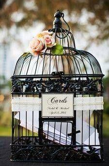 Birdcage Wedding Card Holder | Fun Wedding Ideas | The Mindful Shopper