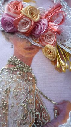 "WORK Albin Vdovin .: Diary of the ""embroider Ribbon"": Groups - Women's social network myJulia.ru"